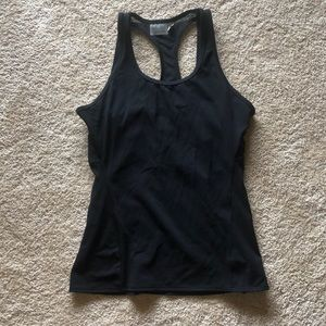 Athleta support tank top in black